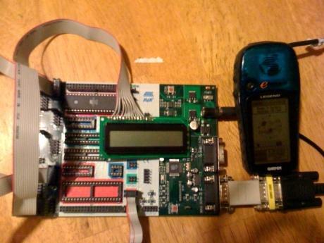 LCD Gps Setup