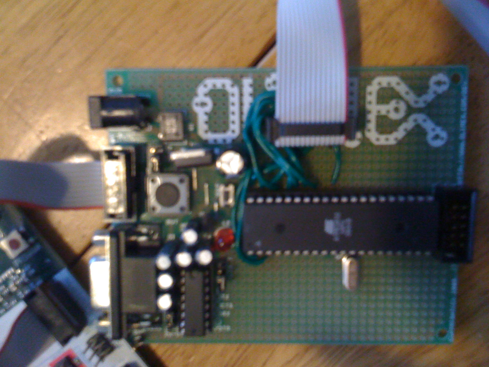 How To Read Rc Servo Pulses With An Avr Atmega32 And Final Board Motor Control By Using Microcontroller Board1